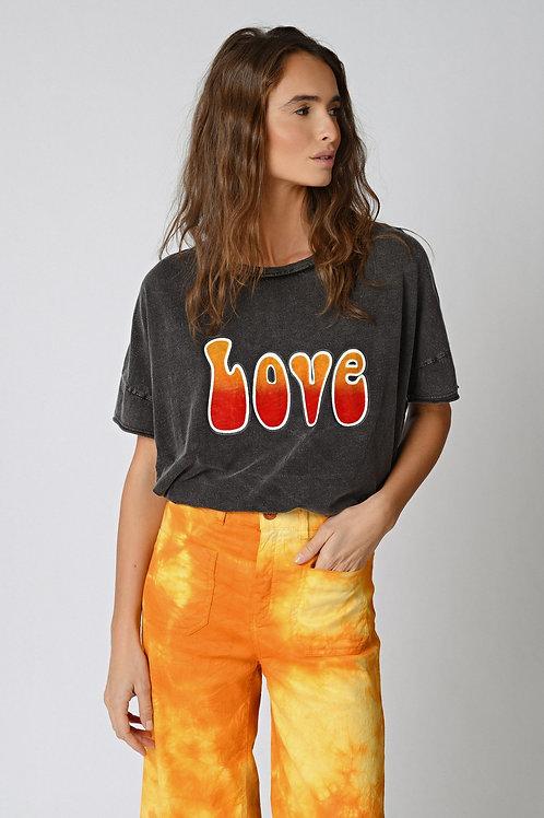 T-shirt Love Five jeans