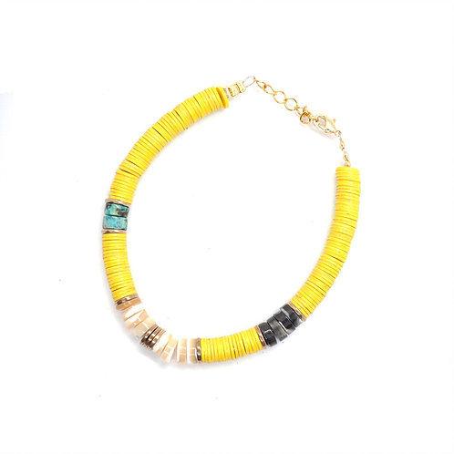 bracelet surfer lemon pearl karma