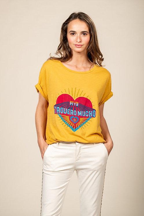 tee shirt taquero mucho five