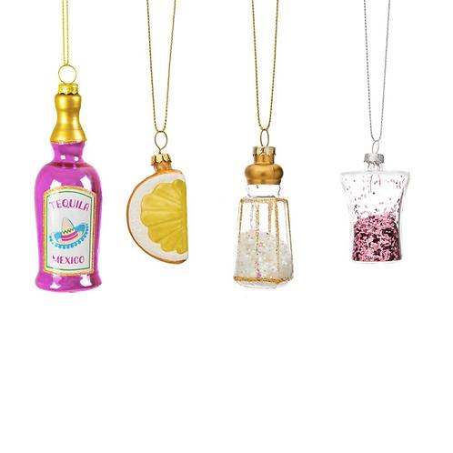 coffret décoration de noël téquila