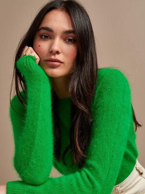 Pull angora vert Bellerose