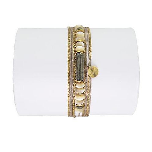 bracelet pyrite Loetma