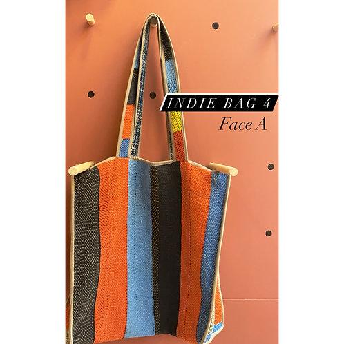 Indie bag reversible piece unique