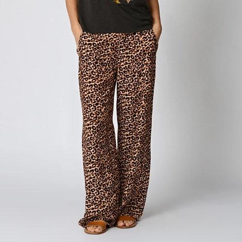 Pantalon léopard Five jeans