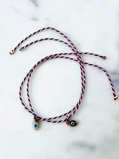 bracelet oeil Pearl Karma