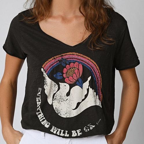 T-shirt peace Five jeans