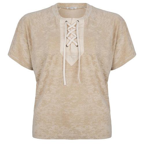 T-shirt en éponge Love Stories
