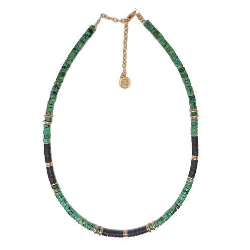 collier lima turquoise
