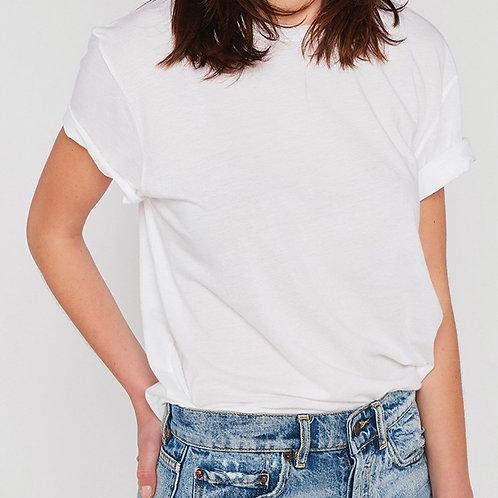tee shirt unisexe blanc