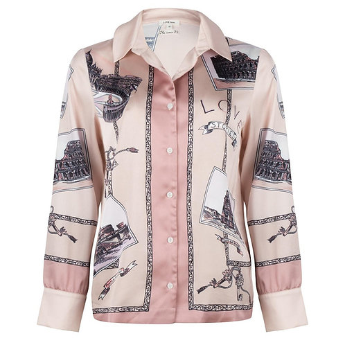 chemise pyjama roma Love Stories