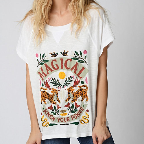 T-shirt magical Five jeans