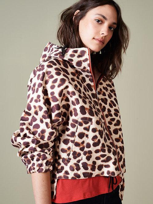 veste léopard bellerose
