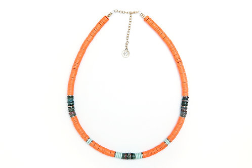 collier surfer kelly orange neon pearl karma