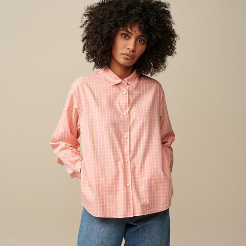 chemise carreaux pink bellerose