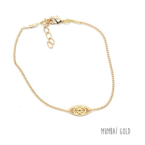 bracelet mumbaï chaine pearl karma