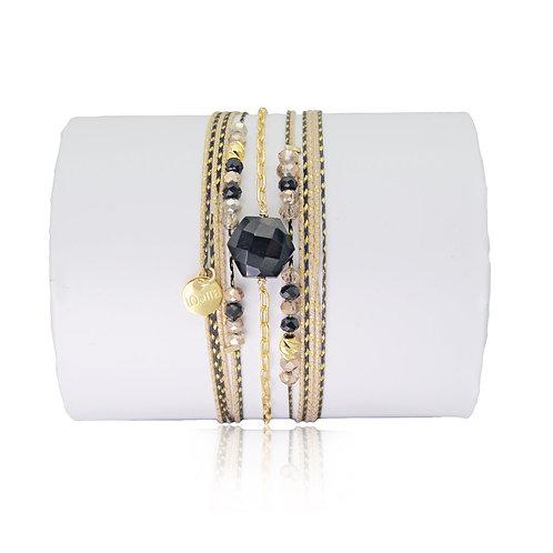 bracelet onyx Loetma