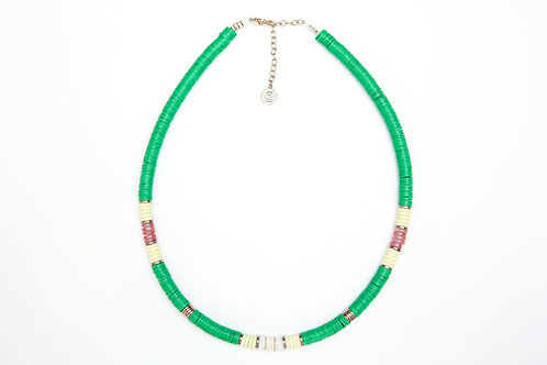 collier surfer kelly green pearl karma