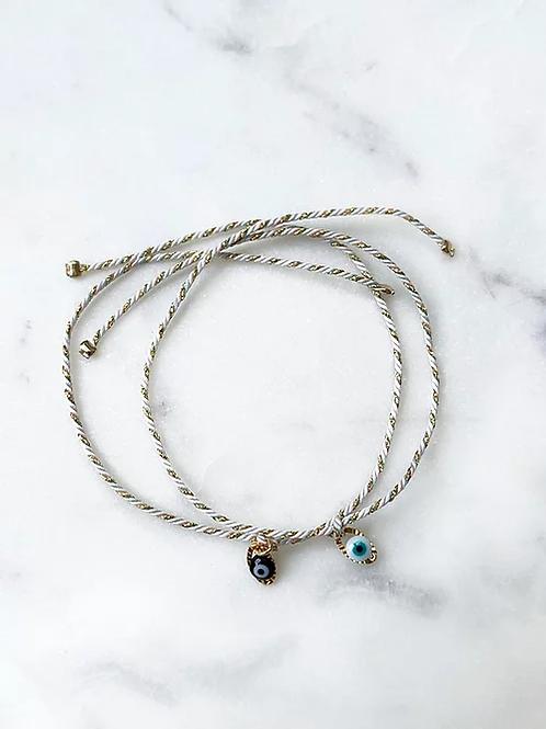 bracelet oeil pastel Pearl Karma