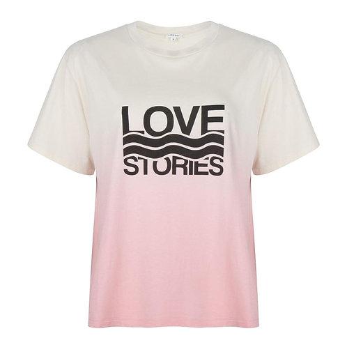 T-shirt peach Love Stories