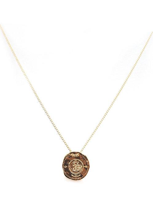 collier médaille midnight gang pearl karma