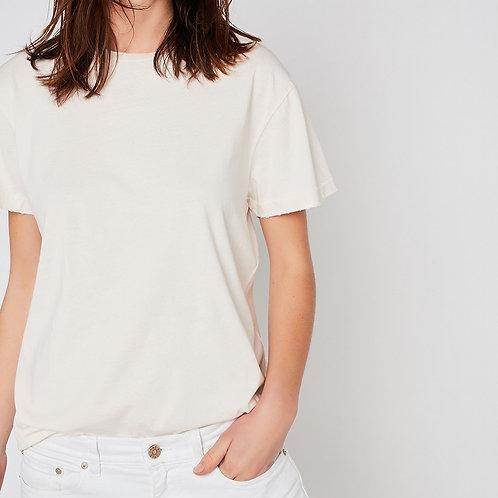t-shirt écru unisexe used