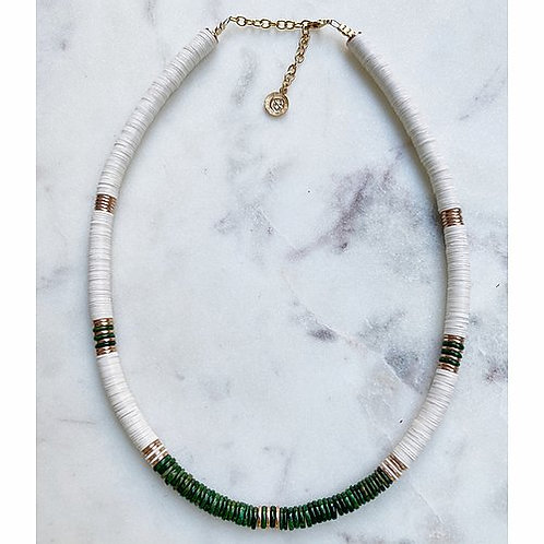 collier new wave jade