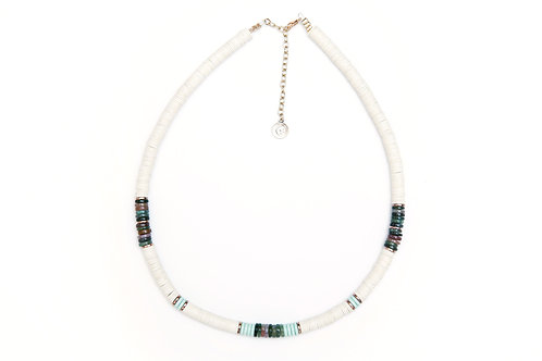 collier surfer kelly off white pearl karma