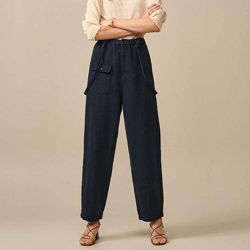 pantalon à bretelles amovibles bellerose