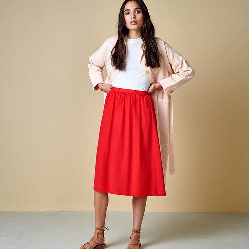 jupe rouge bellerose