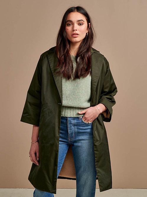 Manteau vert Bellerose
