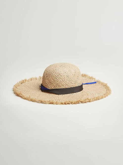 chapeau en paille Bellerose