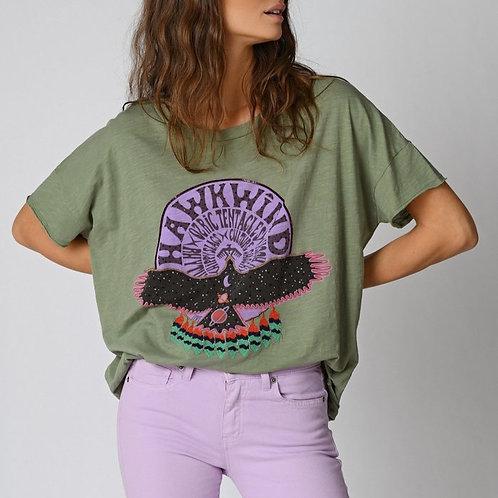 T-shirt hawkwind Five jeans