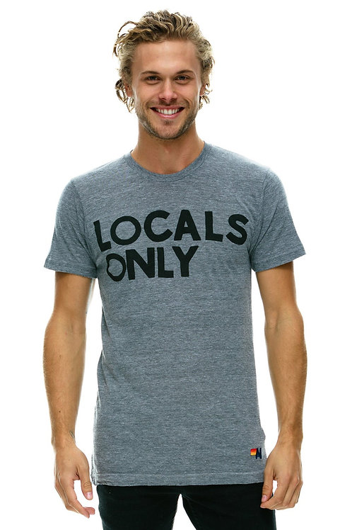 T-shirt locals only aviation nation