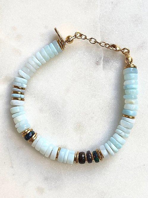 Bracelet new wave opale Pearl Karma