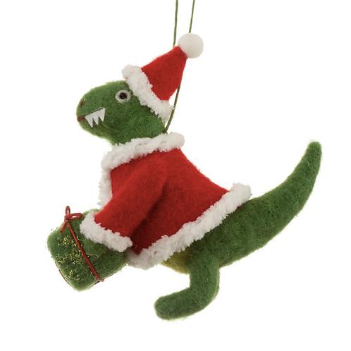 décoration dinosaure en laine