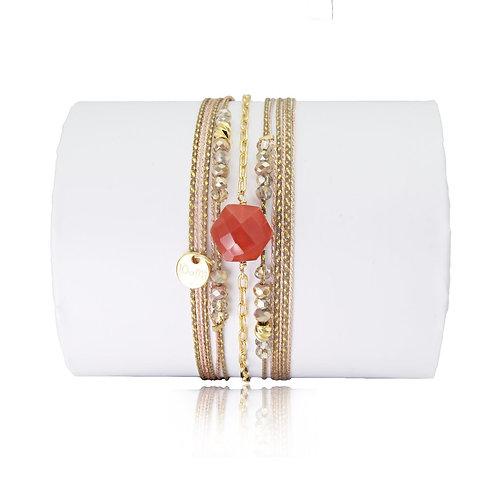 bracelet cornaline Loetma