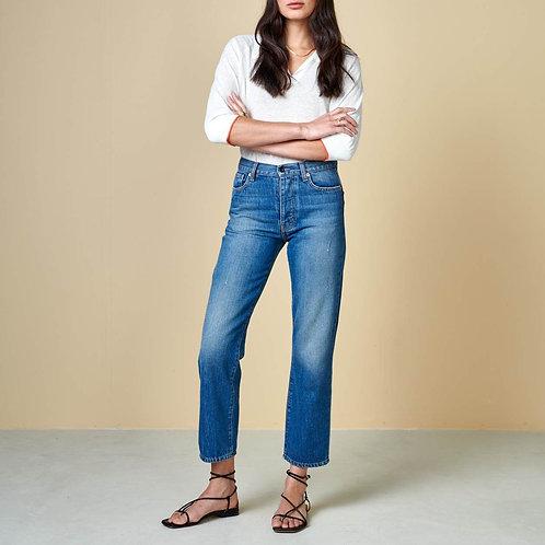 jeans taille haute bellerose