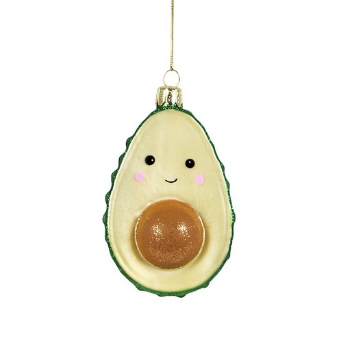 décoration de noël avocado