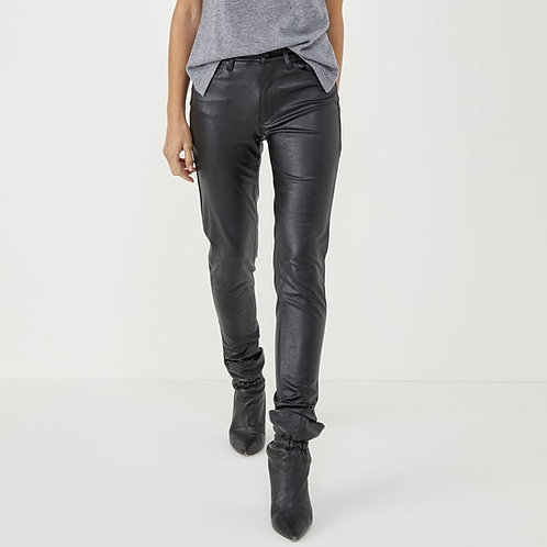 Pantalon simili cuir Five jeans