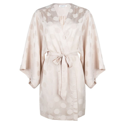 Kimono en satin Love Stories