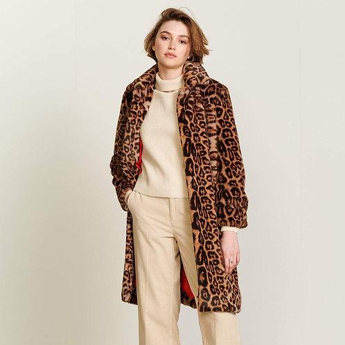 manteau fausse fourrure Bellerose