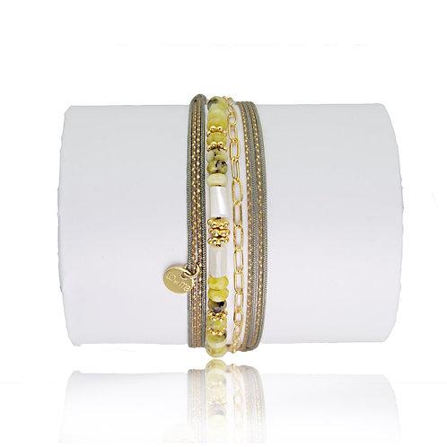 bracelet jaspe anis Loetma