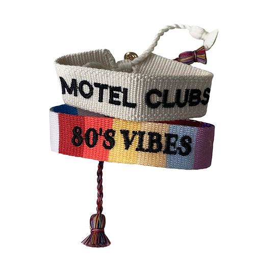 Bracelets friendship 80's Vibes Lovers Bay Club