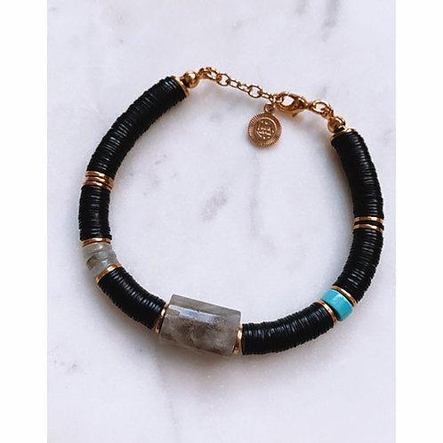Bracelet carmel black Pearl Karma