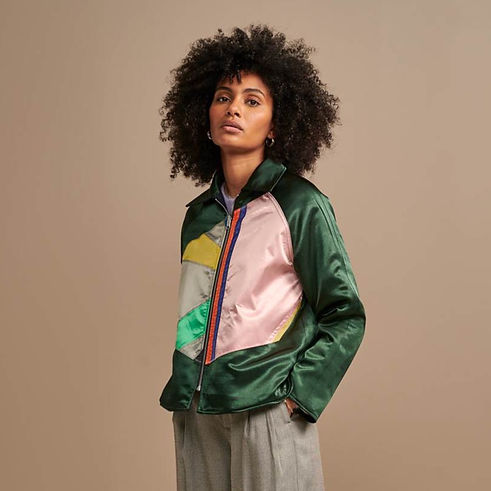 blouson bellerose réversible jacket