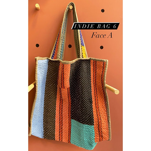 Indie bag reversible piece unique