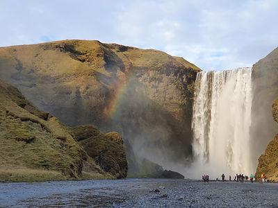 South coast of Iceland to village Vik