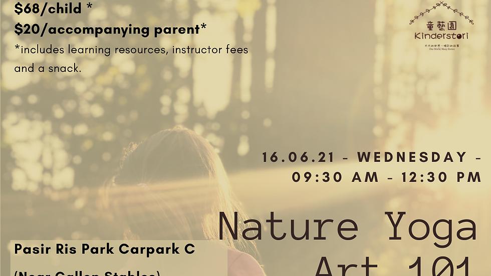 Nature Yoga Art 101 | 16 June 2021