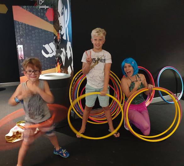 Hula Hoop Ninjas