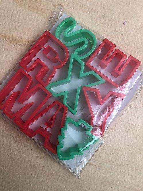 Cortador Letras Navidad